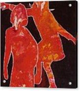 Besties - Dancing Acrylic Print