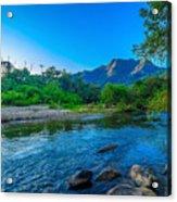 Betari River Acrylic Print