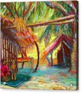 Betawar Village Life Acrylic Print