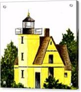 Bete Gris Lighthouse Acrylic Print