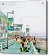 Bethany Beach Circa 2004 Acrylic Print