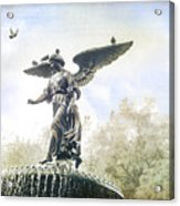 Bethesda Angel Acrylic Print
