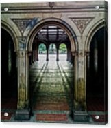 Bethesda Terrace Arcade 1 Acrylic Print