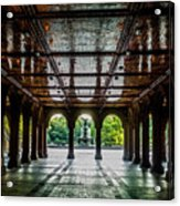 Bethesda Terrace Arcade 2 Acrylic Print