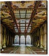 Bethesda Terrace Arcade 3 Acrylic Print