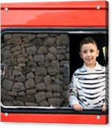Bethlehem - A Child From Bethlehem Acrylic Print