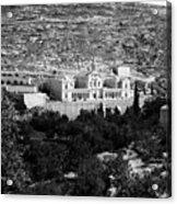 Bethlehem - Artas Convent Year 1900 To 1925 Acrylic Print
