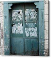 Bethlehem - Blue Door Acrylic Print