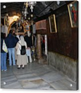 Bethlehem - Grotto Of Nativity 2009 Acrylic Print