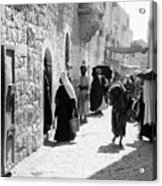 Bethlehem - Hard Working Woman Acrylic Print