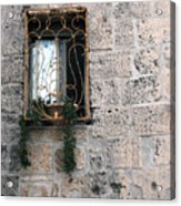 Bethlehem - Nativity Church Window Acrylic Print