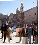 Bethlehem - Nativity Square Demonstration Acrylic Print