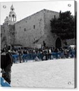 Bethlehem - Nativity Square Acrylic Print
