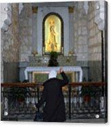 Bethlehem - The Rosary Acrylic Print