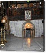 Bethlehem - Woman During Pray Acrylic Print