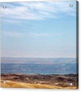 Bethlehem Desert Acrylic Print