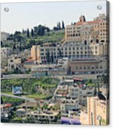 Bethlehem In Spring Acrylic Print