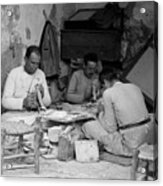 Bethlehem Mother Of Pearl Workers 1934 Acrylic Print
