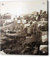 Bethlehem Old Main Street Acrylic Print
