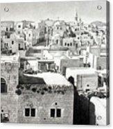 Bethlehem Old Town Acrylic Print by Munir Alawi