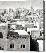 Bethlehem Old Town Acrylic Print