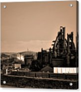 Bethlehem Steel Acrylic Print by Bill Cannon