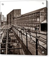 Bethlehem Steel Number Two Machine Shop Acrylic Print