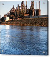 Bethlehem Steel Water's Edge Acrylic Print