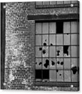 Bethlehem Steel Window Acrylic Print