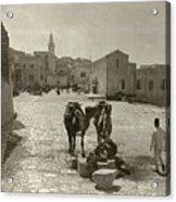 Bethlehem: Street, C1911 Acrylic Print