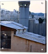 Bethlehem Watchtower Acrylic Print
