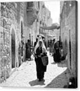 Bethlehemite Going To The Market Acrylic Print