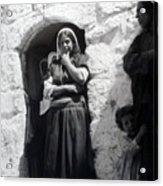 Bethlehemites Women 1900s Acrylic Print