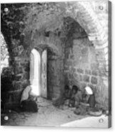 Bethlehemites Women Working Year 1925 Acrylic Print