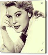 Betsy Palmer, Vintage Actress Acrylic Print