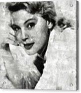 Betsy Palmer Vintage Hollywood Actress Acrylic Print