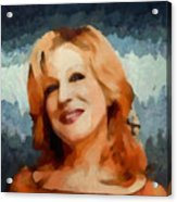Bette Midler Collection - 1 Acrylic Print