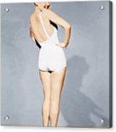Betty Grable, World War II Pin-up, 1943 Acrylic Print by Everett