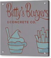 Combo Meal Acrylic Print