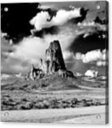 Between Monument Valley And Canyon De Chelley Acrylic Print
