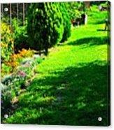Beutifull Garden Acrylic Print