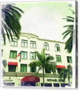 Beverly Hills Rodeo Drive 5 Acrylic Print