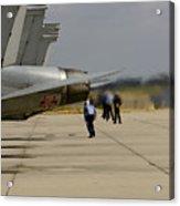 Beware - Jet Blast Acrylic Print