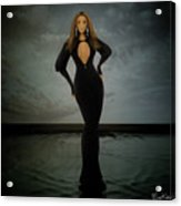 Beyonce - Beautiful Liar  Acrylic Print