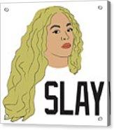 Beyonce Acrylic Print