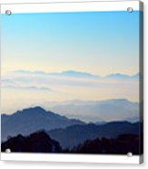 Beyond The Clouds Acrylic Print