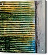 Beyond The Fence Acrylic Print