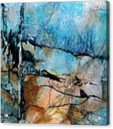 Beyond The Forest Line Acrylic Print