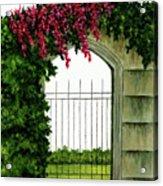 Beyond The Gates Acrylic Print