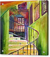 Beyond The Steps Acrylic Print